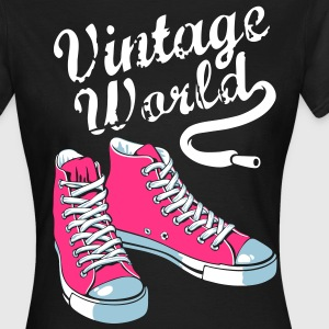 Vintage girly sneakers - T-shirt Femme