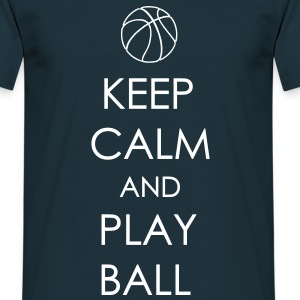 Marine KEEP CALM AND PLAY BALL Tee shirts - T-shirt Homme