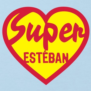 esteban super coeur heart love Tee shirts Enfants - T-shirt Bio Enfant