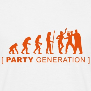 evolution_party T-shirts - Mannen T-shirt