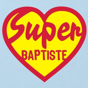 baptiste super coeur heart love Tee shirts Enfants - T-shirt Bio Enfant