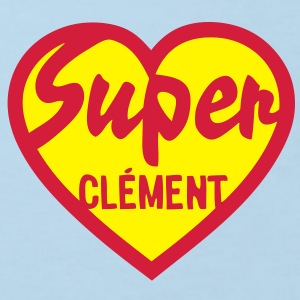 clement super coeur heart love Tee shirts Enfants - T-shirt Bio Enfant