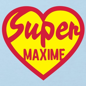 maxime super coeur heart love Tee shirts Enfants - T-shirt Bio Enfant