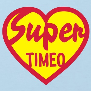 timeo super coeur heart love Tee shirts Enfants - T-shirt Bio Enfant