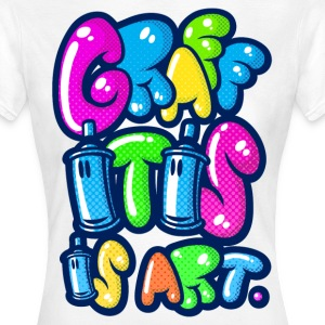 Graffitis art - Women's T-Shirt