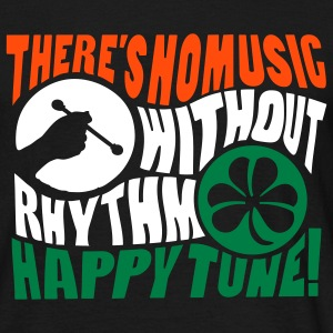 no music without rhythm - Maglietta da uomo
