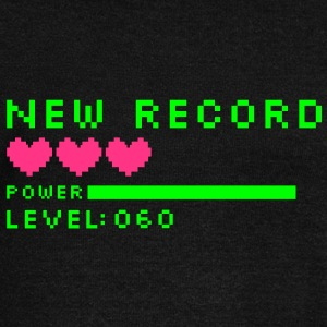 new record level 60 birthday design Geburtstag (es) Sudadera - Sudadera con escote drapeado mujer