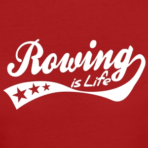 rowing is life - retro T-Shirts - Women's Organic T-shirt