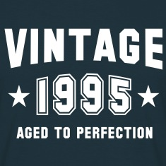 VINTAGE 1995 - Birthday T-Shirt