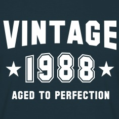 VINTAGE 1988 - Birthday T-Shirt