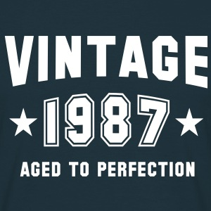 VINTAGE 1987 - Birthday T-Shirt - Men's T-Shirt