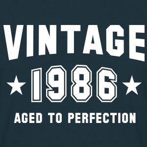 VINTAGE 1986 - Birthday T-Shirt - Men's T-Shirt