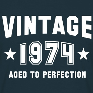 VINTAGE 1974 - Birthday T-Shirt - Men's T-Shirt