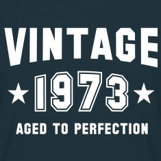 VINTAGE 1973 - Birthday T-Shirt