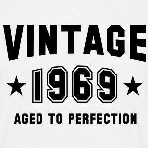 VINTAGE 1969 - Birthday T-Shirt White - Men's T-Shirt