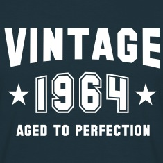 VINTAGE 1964 - Birthday T-Shirt