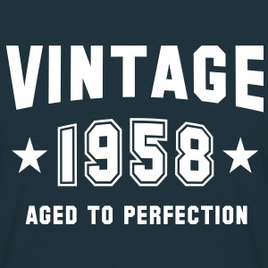 VINTAGE 1958 - Birthday T-Shirt - Men's T-Shirt