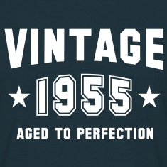 VINTAGE 1955 - Birthday T-Shirt