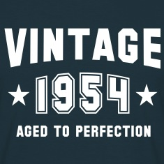 VINTAGE 1954 - Birthday T-Shirt