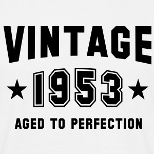 VINTAGE 1953 - Birthday T-Shirt White - Men's T-Shirt