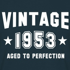VINTAGE 1953 - Birthday T-Shirt