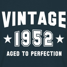 VINTAGE 1952 - Birthday T-Shirt