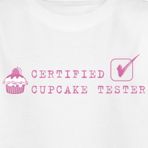 Cupcake tester Kinder shirts - Teenager T-shirt