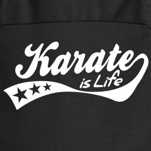 karate is life - retro Grembiuli - Grembiule da cucina