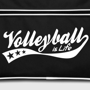 volleyball is life - retro Tassen - Retro-tas
