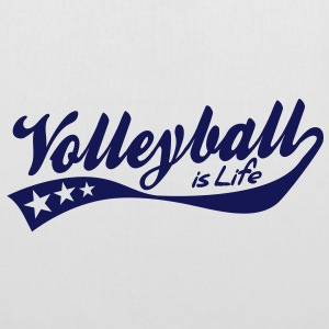 volleyball is life - retro Borse - Borsa di stoffa