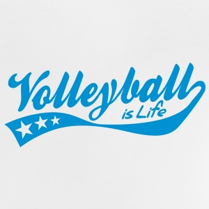 volleyball is life - retro Baby T-shirts - Baby T-shirt