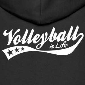 volleyball is life - retro Kinder sweaters - Kinderen Premium jas met capuchon