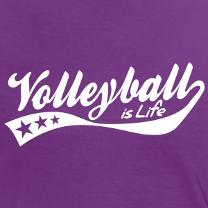 Tee shirts t shirt de volley ball spreadshirt for Life is good volleyball t shirt