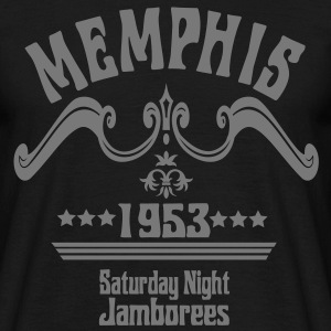 Memphis 1953 - Saturday Night Jamborees - Männer T-Shirt