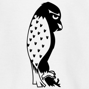 Brummel Falke / grumpy falcon (b, 1c) Kinder T-Shirts - Teenager T-Shirt
