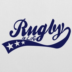 rugby is life - retro Bags  - Tote Bag