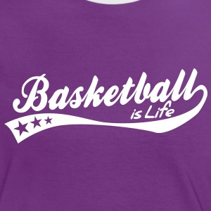 basketball is life - retro T-Shirts - Women's Ringer T-Shirt
