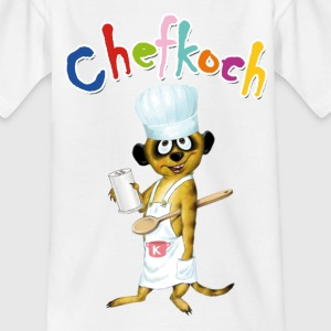 Chefkoch-Schlingel - Teenager T-Shirt