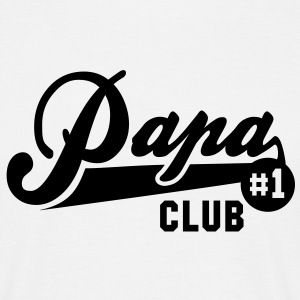 Papa No1 CLUB T-Shirt BLACK - Men's T-Shirt