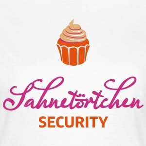 Sahnetörtchen Security - Frauen T-Shirt