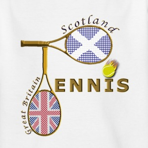 great britain scotland tennis Kids' Shirts - Teenage T-shirt