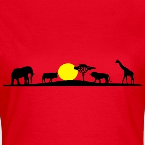 Afrika Wildnis - Frauen T-Shirt