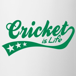 cricket is life - retro Mugs  - Mug