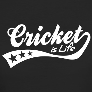 cricket is life - retro T-shirts - Vrouwen Bio-T-shirt
