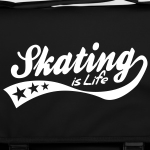 skating is life - retro Tasker - Skuldertaske