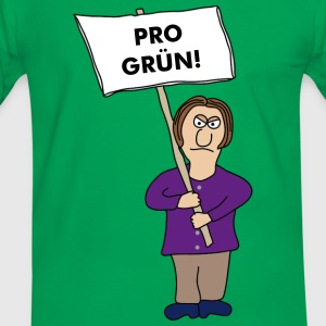 Protest T-shirts - Mannen contrastshirt