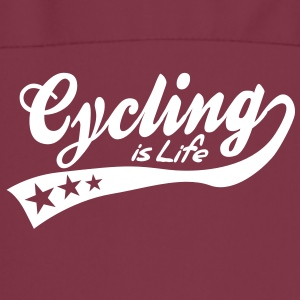 cycing is life - retro  Aprons - Cooking Apron