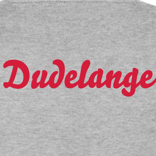 Logo Chest, Never give up, Dudelange Back