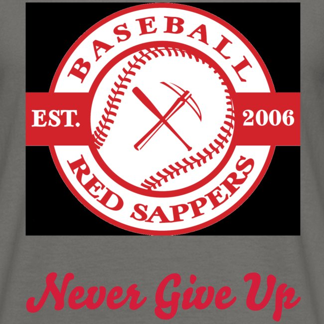Logo Chest, Never give up, Red Sappers Back
