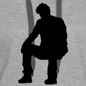 Sad Keanu is sad - Sweat-shirt à capuche Premium pour femmes